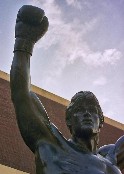 Sports Greeting Card featuring the photograph Rocky 2 by Joseph Perno