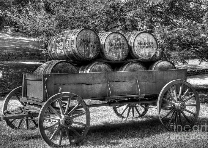 Barrels Greeting Card featuring the photograph Roll Out The Barrels by Mel Steinhauer