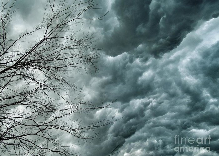 Storms Greeting Card featuring the photograph Rolling by AK Photography