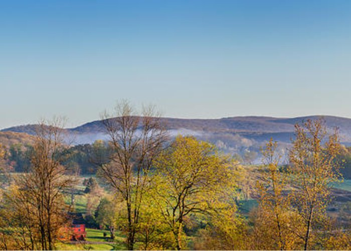 Farm Greeting Card featuring the photograph Rolling Hills by Bill Wakeley