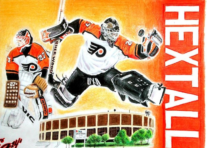 Ron Hextall Greeting Cards