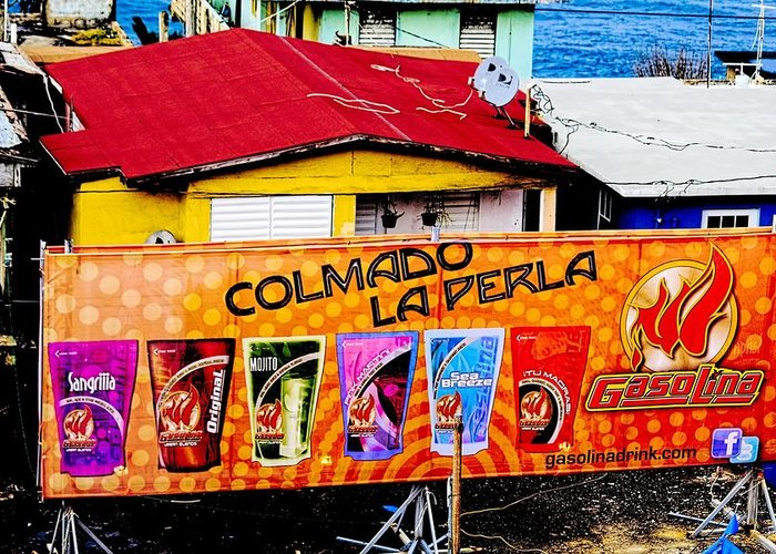 Digital Greeting Card featuring the photograph Roots Of La Perla At Old San Juan by Sandra Pena de Ortiz