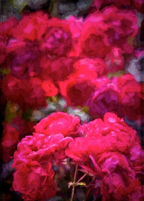 Floral Greeting Card featuring the photograph Rose 134 by Pamela Cooper