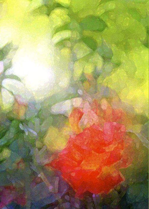 Floral Greeting Card featuring the photograph Rose 190 by Pamela Cooper