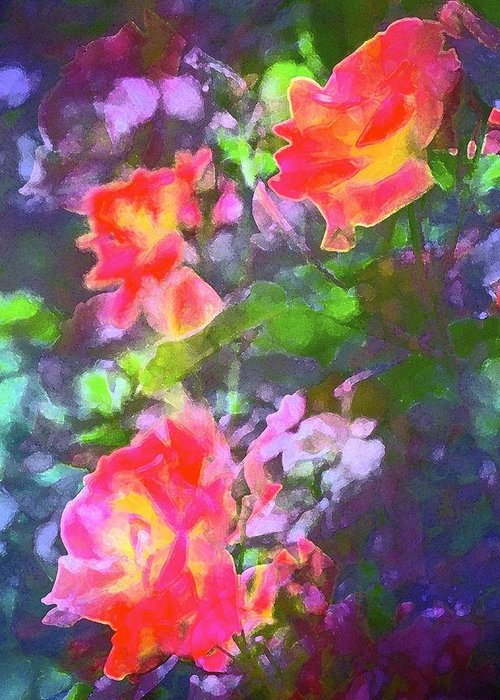 Floral Greeting Card featuring the photograph Rose 192 by Pamela Cooper