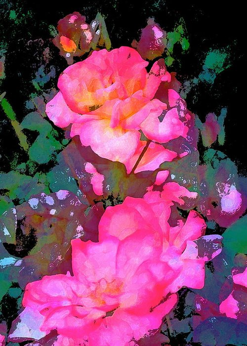 Floral Greeting Card featuring the photograph Rose 193 by Pamela Cooper