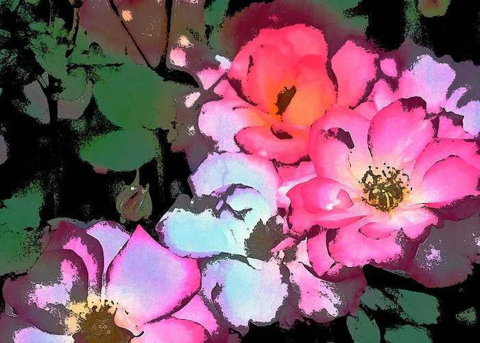 Floral Greeting Card featuring the photograph Rose 197 by Pamela Cooper