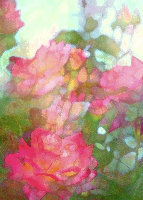 Floral Greeting Card featuring the photograph Rose 200 by Pamela Cooper