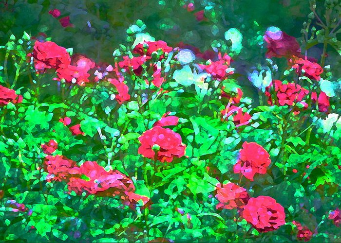 Floral Greeting Card featuring the photograph Rose 201 by Pamela Cooper