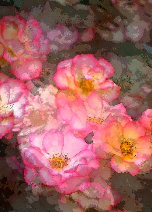 Floral Greeting Card featuring the photograph Rose 210 by Pamela Cooper