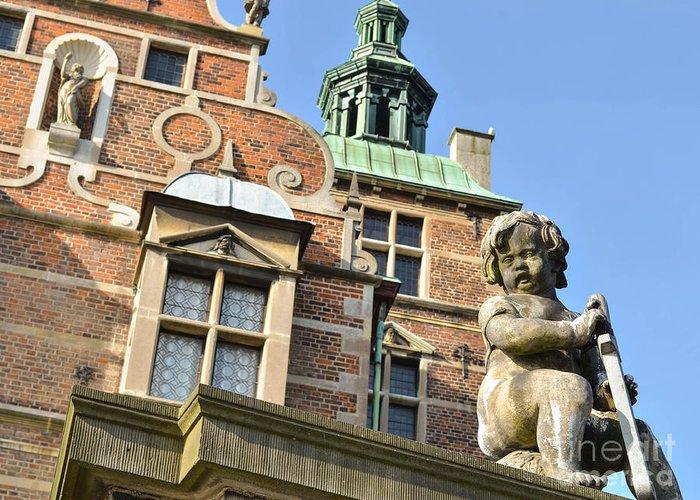 Rosenborg Greeting Card featuring the photograph Rosenborg Castle In Copenhagen - Denmark by Aleksandar Mijatovic