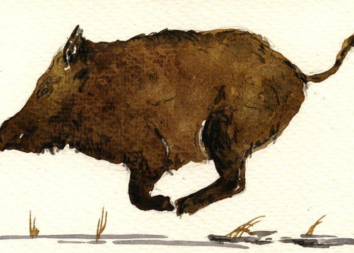 Wild Boar Art | Fine Art America