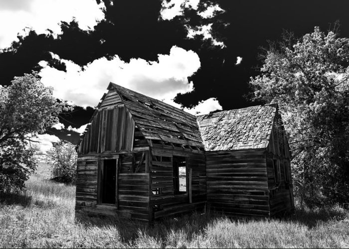 Americana Greeting Card featuring the photograph Rustic Barn by Scott McGuire