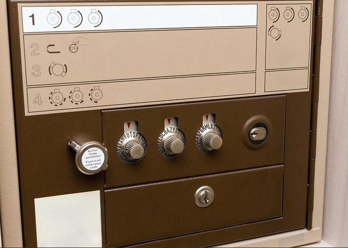 Safety Deposit Boxes Greeting Cards