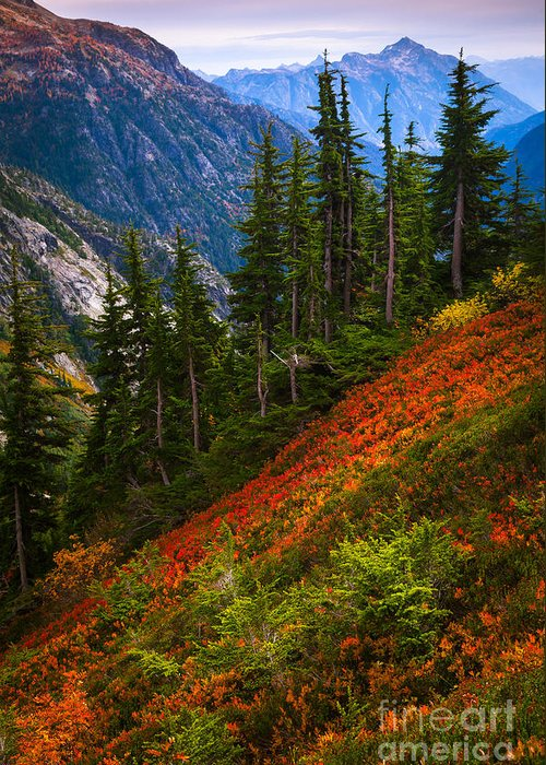North Cascades Greeting Cards