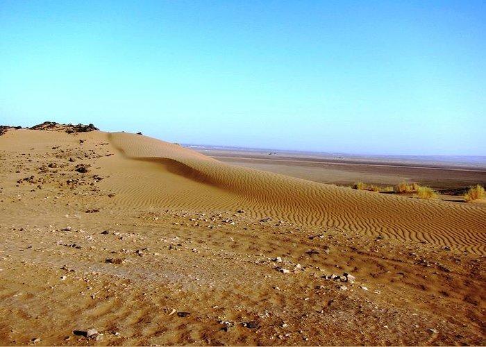Morocco Greeting Card featuring the photograph Sahara Desert 14 by Teresa Ruiz