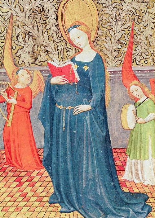 Saint Cecilia Greeting Cards