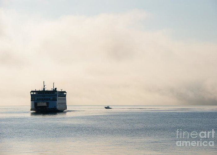 Whidbey Island Ferry Greeting Cards