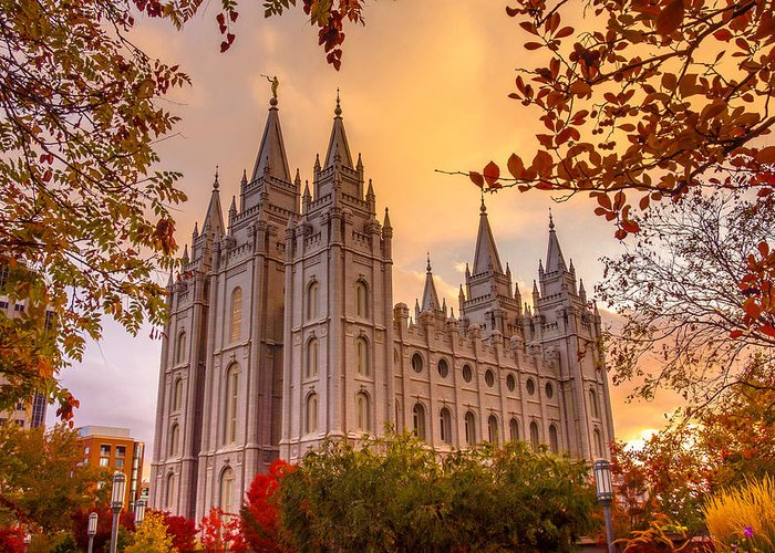 Lds Temples Greeting Cards