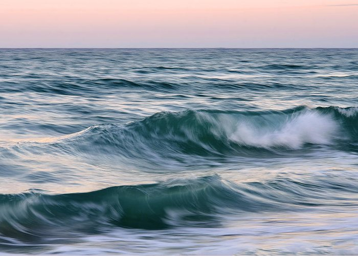 Waves Greeting Card featuring the photograph Saltwater Soul by Laura Fasulo