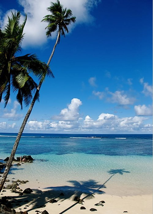Samoa Greeting Card featuring the photograph Samoan Paradise by Marc Levine