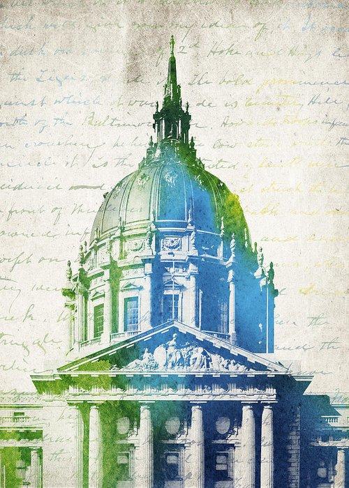 San Francisco City Hall Greeting Cards