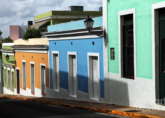 San Juan Colors Greeting Card featuring the photograph San Juan Colors by John Rizzuto