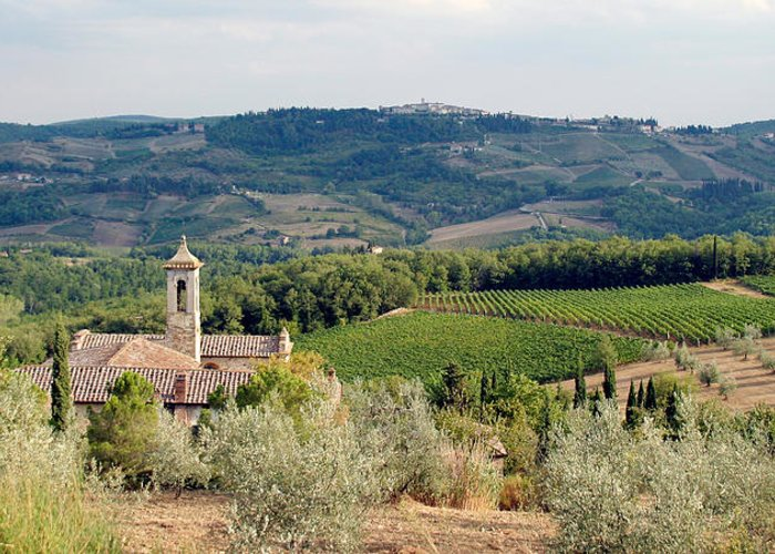 Italy Greeting Card featuring the photograph Santa Maria Novella Priory Tuscany by Mathew Lodge