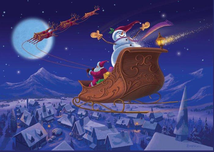 Reindeer Greeting Cards