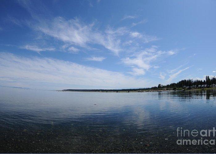 Beach Greeting Card featuring the photograph Saratoga Beach by Sean Stauffer