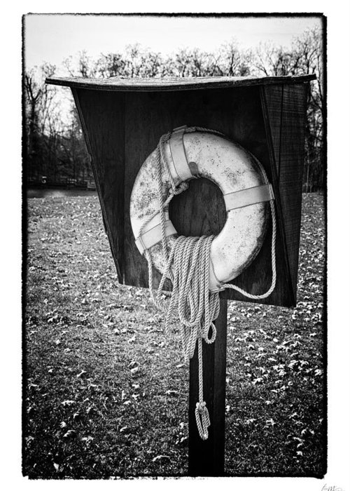 Grunge Greeting Card featuring the photograph Save Me - Art Unexpected by Tom Mc Nemar