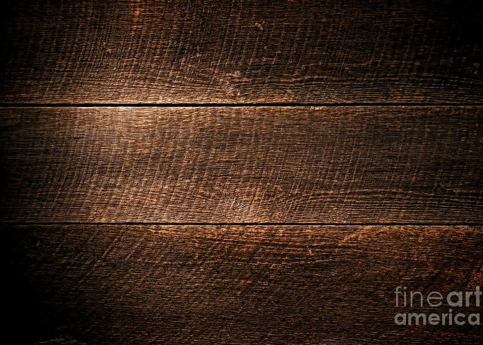 Background Greeting Card featuring the photograph Saw Marks On Wood by Olivier Le Queinec