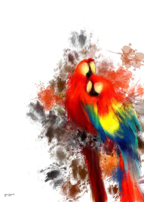 Scarlet Macaw Greeting Cards