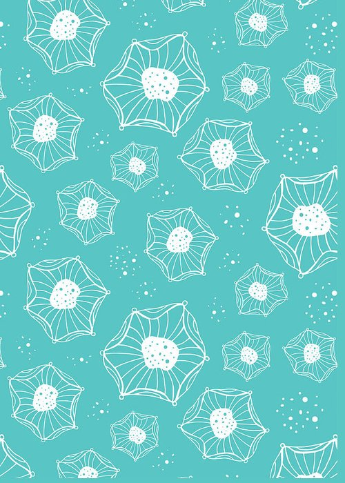 Susan Claire Greeting Card featuring the photograph Sea Flower by Susan Claire