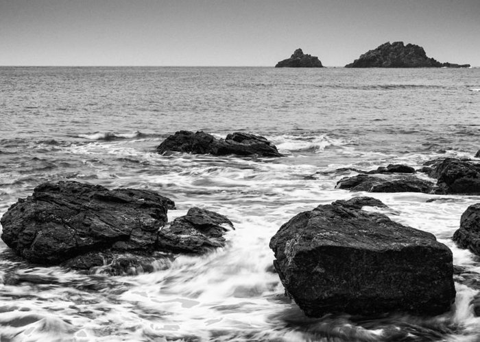 Sea Greeting Card featuring the photograph Sea by Matthew Gibson