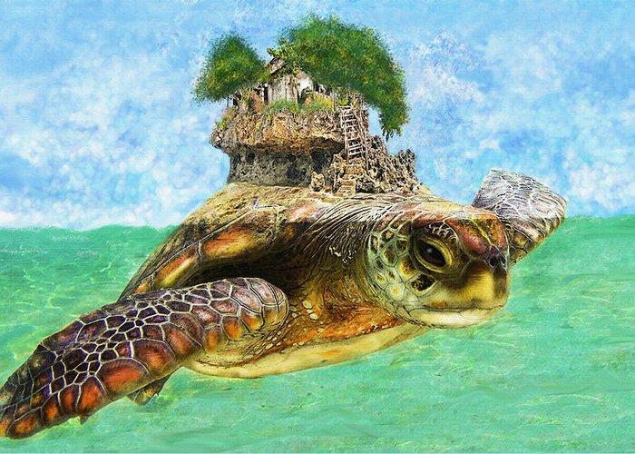 Znalezione obrazy dla zapytania turtle island