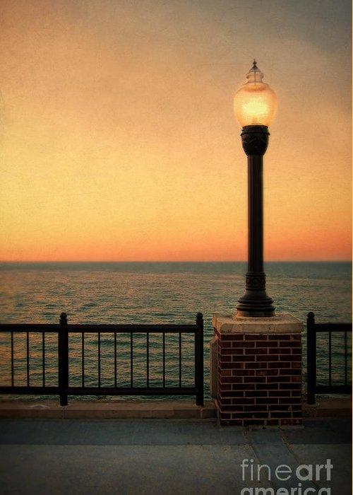 Sea Greeting Card featuring the photograph Sea View by Jill Battaglia