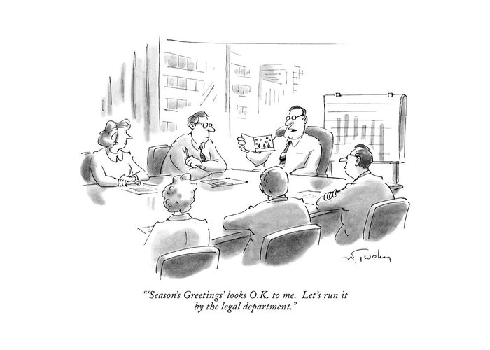 Boardroom Greeting Cards