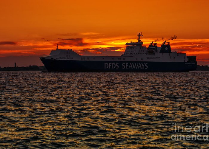 Bay Greeting Card featuring the photograph Seaways by Svetlana Sewell