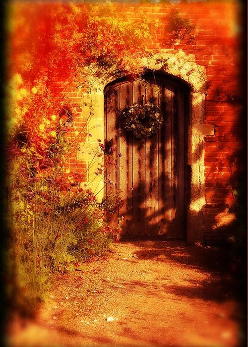 Greeting Card featuring the photograph Secret Garden by Michael Hope