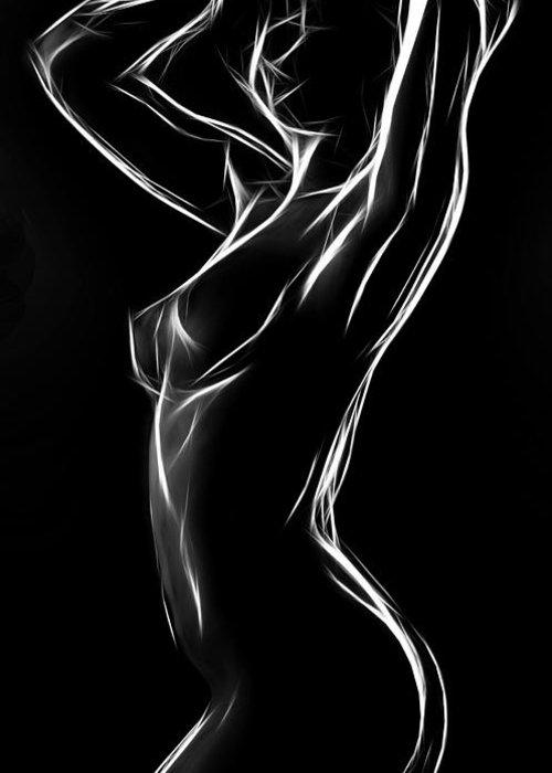 Sensual erotic e card
