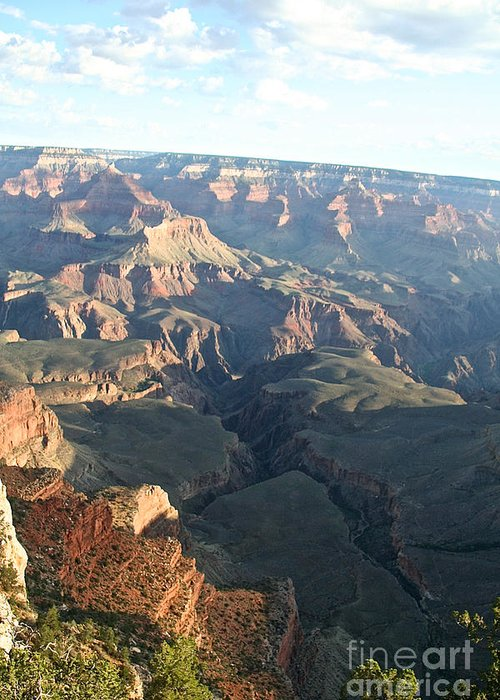 Outdoors Greeting Card featuring the photograph September's South Rim by Susan Herber