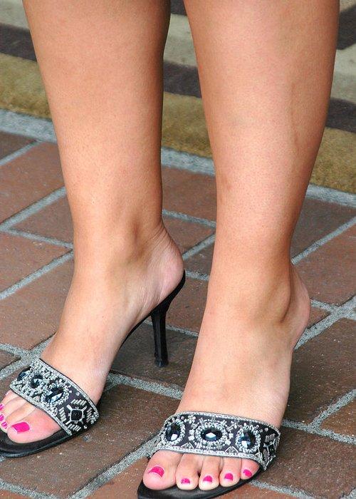 Sexy feet female