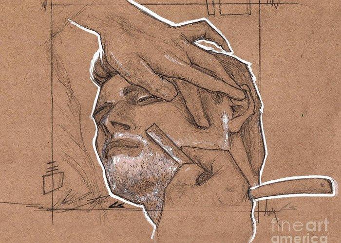Beard Drawings Greeting Cards