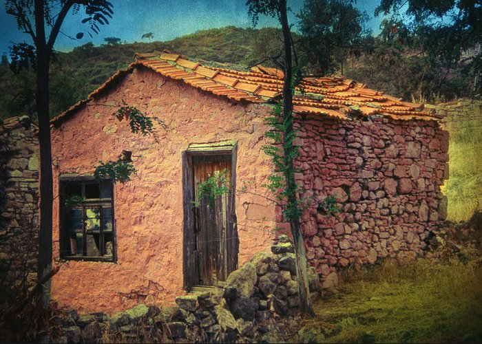 Village Greeting Card featuring the photograph Sighed by Taylan Apukovska