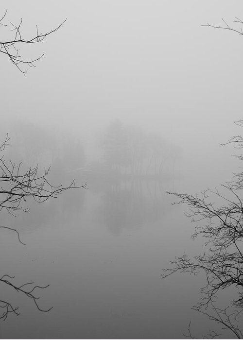 Foggy Greeting Card featuring the photograph Simple Pleasures by Luke Moore