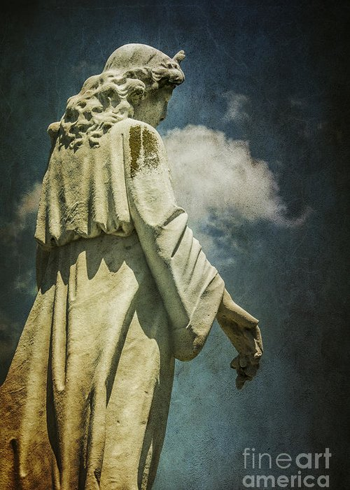 Sky Greeting Card featuring the photograph Sky Angel by Terry Rowe