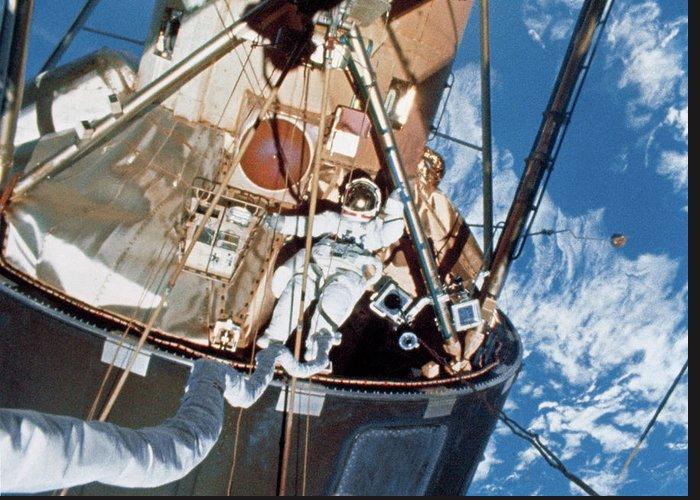 Skylab 4 Greeting Cards