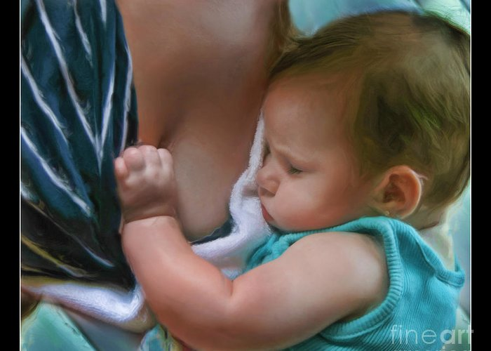 Baby Greeting Card featuring the photograph Sleeping Baby by Blake Richards