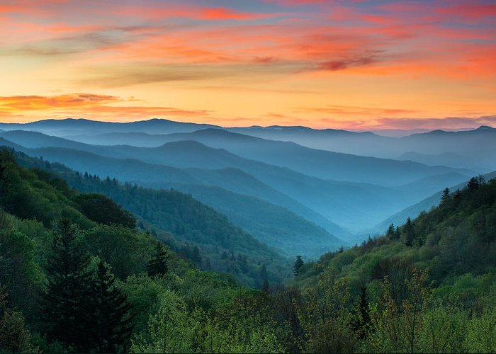 Western North Carolina Greeting Cards